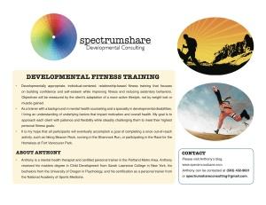 SpectrumShare Flyer Fitness