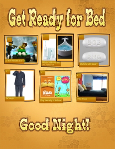bedtime routine 1