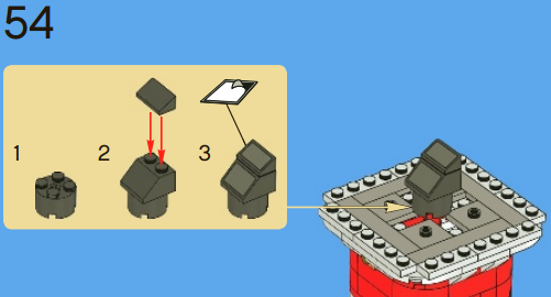 Lego Like Visual Instructions For The Upcoming School Year